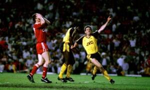 Liverpool v Arsenal 1989