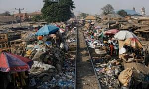 Lagos to Kano rail track, Nigeria