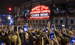 The Cubs finally won the World Series in a thrilling seven games in 2016