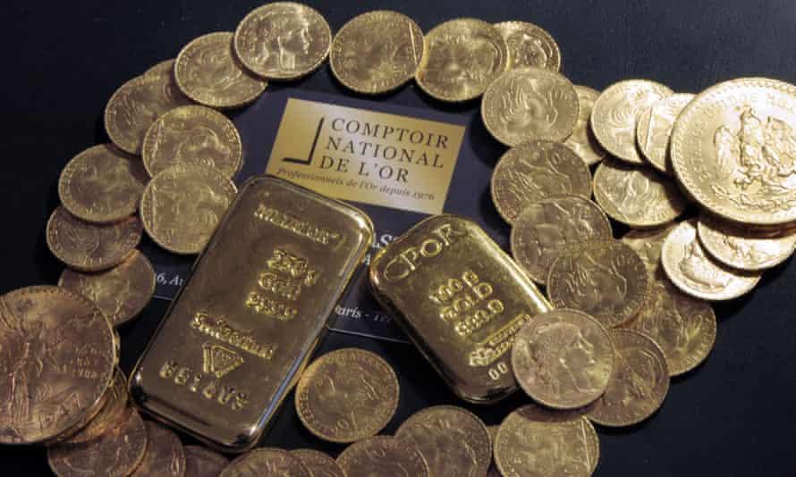 france gold house