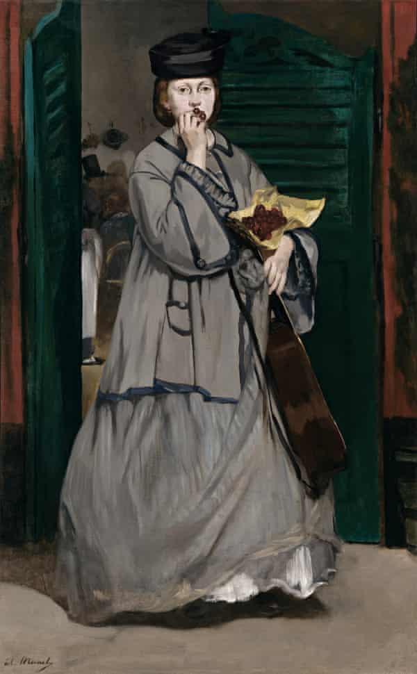 Edouard Manet, cantante callejero c.  1862