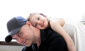 Tom Malmquist with his daughter Livia.