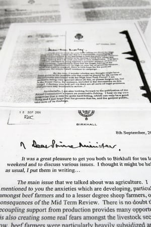 Prince Charles letters