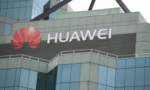 The Sydney headquarters of Chinese tech company Huawei