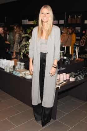 Minimalist ... Gwyneth Paltrow.