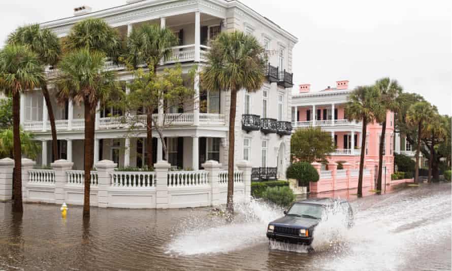 charleston south carolina flooding climate change