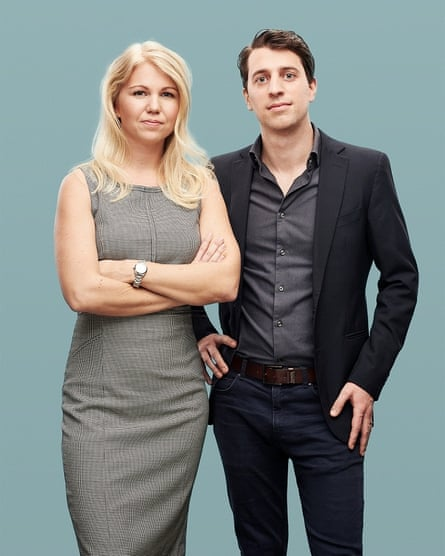 Natural Cycles founders Elina Berglund Schewitzl and Raoul Schewitzl