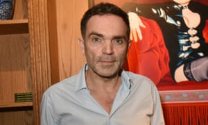 Yann Moix … 50 years old and as attractive as an upturned shopping trolley in a canal.
