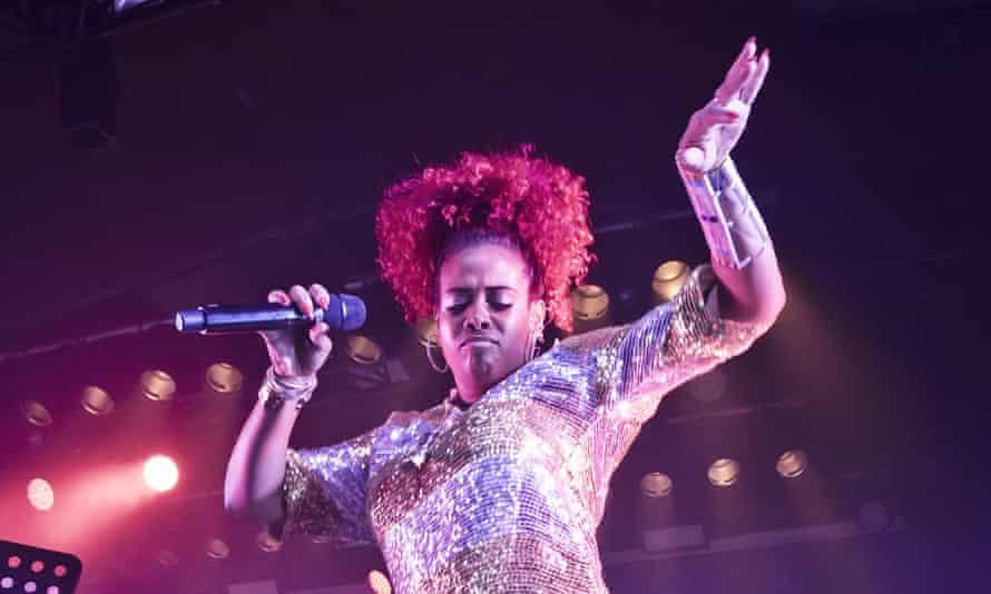 Kelis performing in Berlin, 5 March 2020.