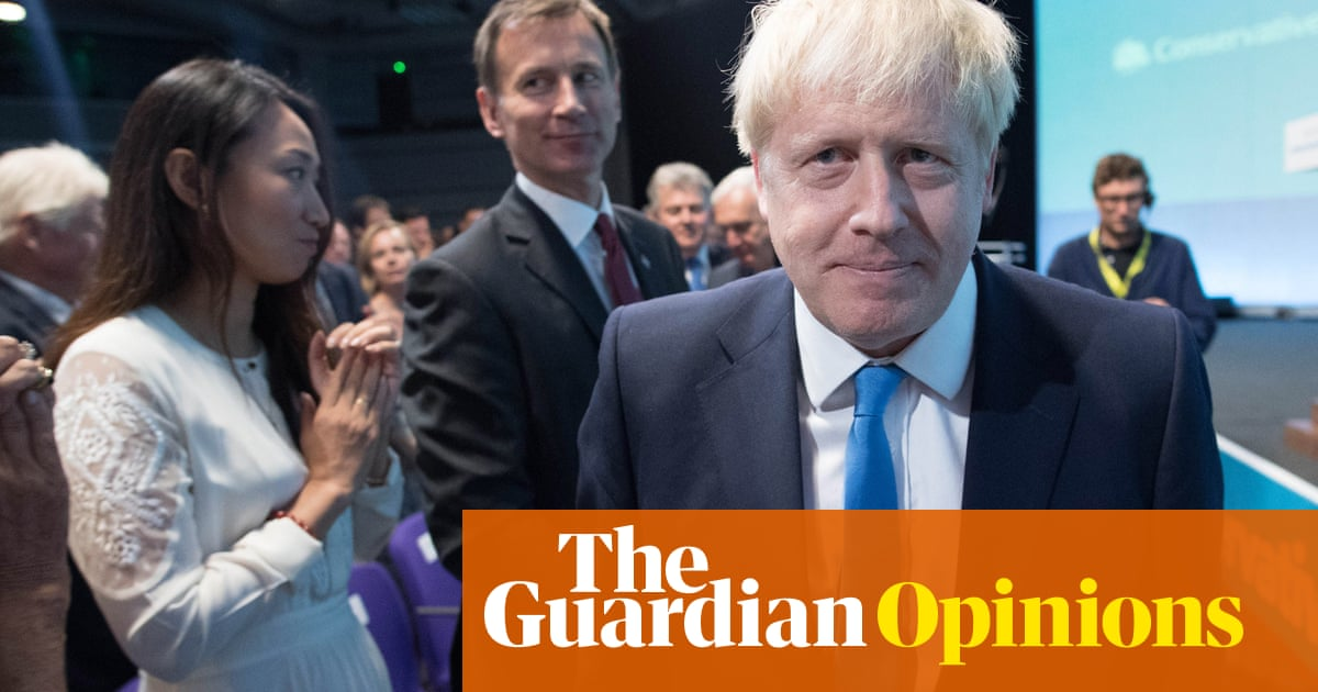 Boris Johnson: the clown is crowned as the country burns in hell | Hannah Jane Parkinson