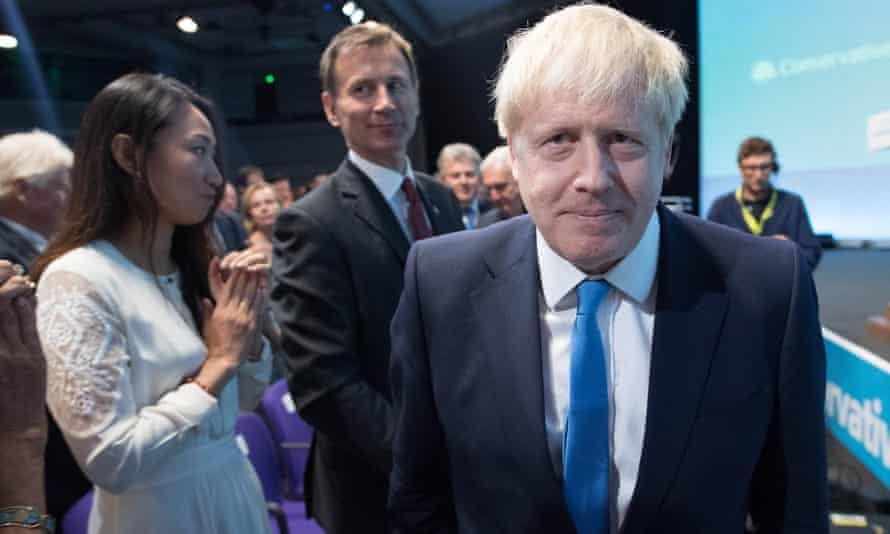 Boris Johnson is announced as the next leader of the Conservative party, London, 23 July