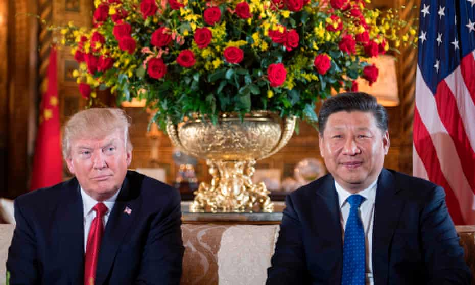 Relations between the Trump administration and China have improved since Trump described Beijing as an 'enemy' of the US