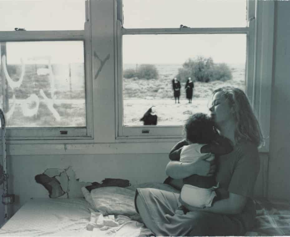 Tracey Moffatt, No title, from her series of lithographs Up in the Sky, 1997.
