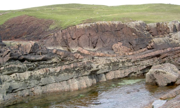 Ancient asteroid crater located off coast of Scotland