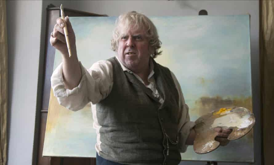 Timothy Spall as JMW Turner in Leigh's 2014 biopic