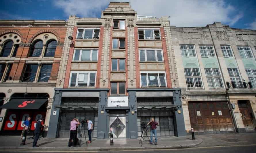 Fabric nightclub in London.