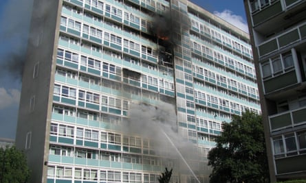 The fire at Lakanal House in Southwark, London