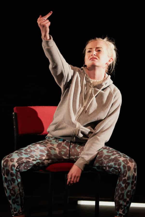 Sophie Melville in Iphigenia in Splott at the Sherman theatre, Cardiff, in 2015.