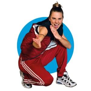 Jogging on ... Sporty Spice, AKA Melanie Chisholm