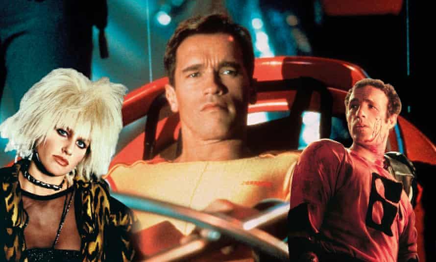 Daryl Hannah in Blade Runner; Arnold Schwarzenegger in The Running Man; James Caan in Rollerball