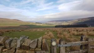 The Pennine Way near Alston