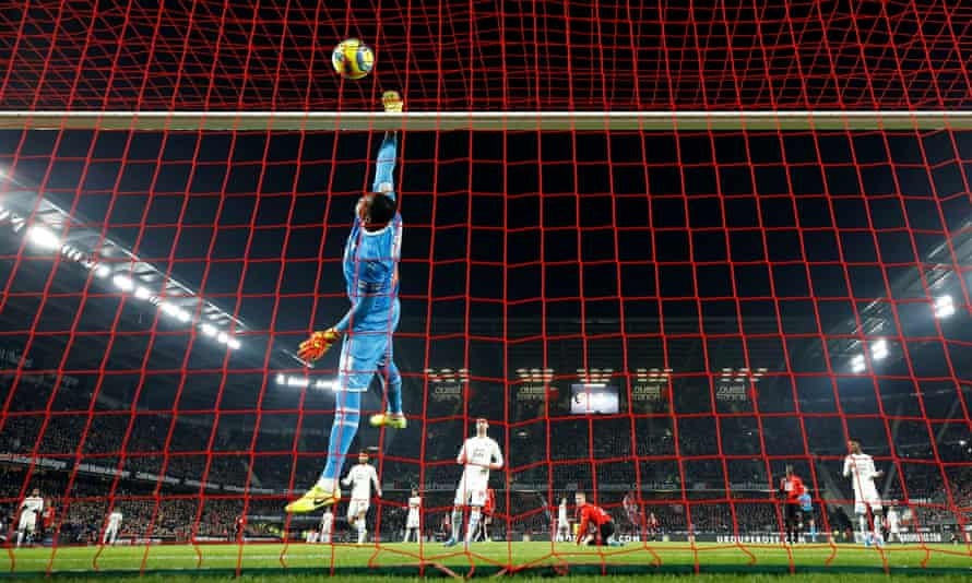 Steve Mandanda was back in goal for Marseille this weekend.
