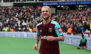 Marko Arnautovic double lifts West Ham and sinks Southampton ... on sandro wagner, marc janko, marko marin, miroslav klose, marcell jansen,