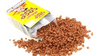 A Box of Kellogg's Coco Pops