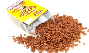 Kellogg's Coco Pops cereal.