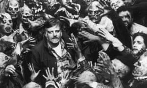 'Profound influence' … George A Romero on the set of Day of the Dead.