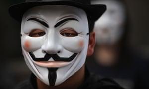 Occupy mask