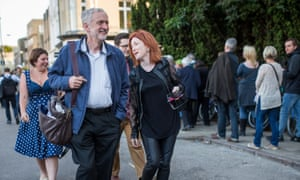 Jeremy Corbyn meeting supporters at an event in Cambridge earlier this week.