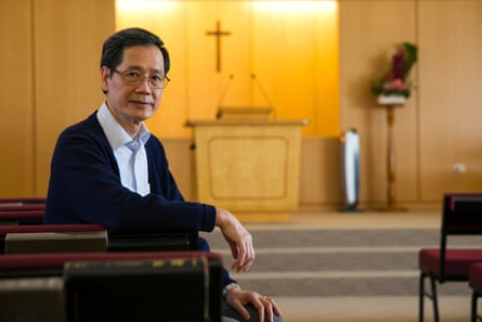 Pastor Constant Chang says his parishioners will not vote for any candidate who supports same-sex marriage in parliament.