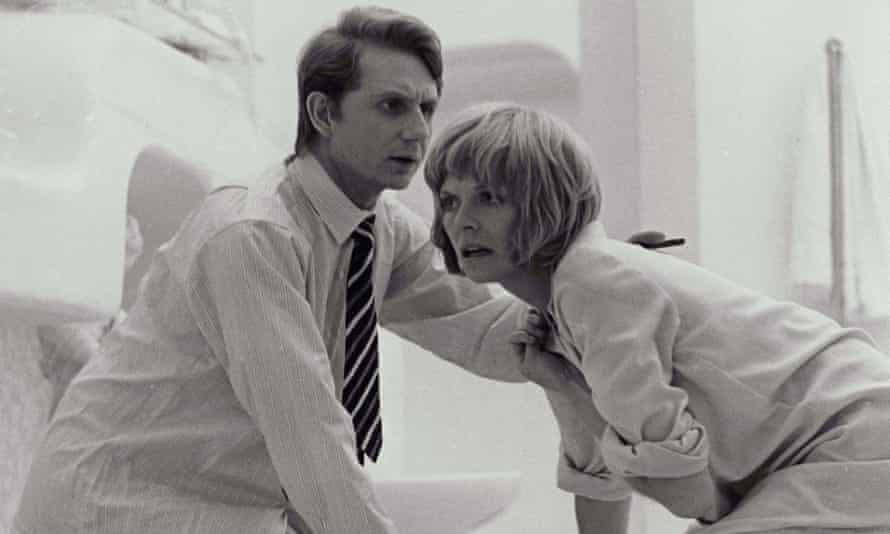 René Auberjonois and Susannah York in Images, 1972.