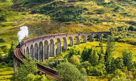 Dazzling views and a boy wizard keep magical rail route on track