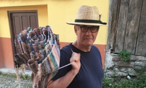 Mark Whittow in Romania. He could teach everything: the fall of the Roman Empire, Anglo-Saxon England, Carolingian Europe – the region whose greatest ruler was Charlemagne – and the Crusades