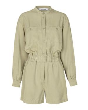 Light khaki playsuit, £140, samsoe.com
