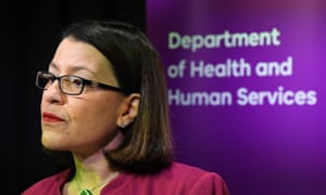 Victorian Health Minister Jenny Mikakos speaks to media during a press conference at the Department of Health and Human Services offices in Melbourne, Monday, March 2, 2020.