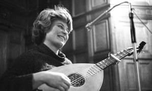 Shirley Collins in 1962.