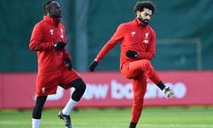Sadio Mane (left) and Mohamed Salah will be vital to Liverpool's hopes of reaching the last 16.