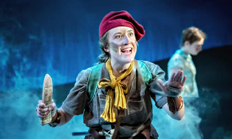 Swallows & Amazons at York Theatre Royal Rachel Hammond in Swallows & Amazons. Photography by Anthony Robling