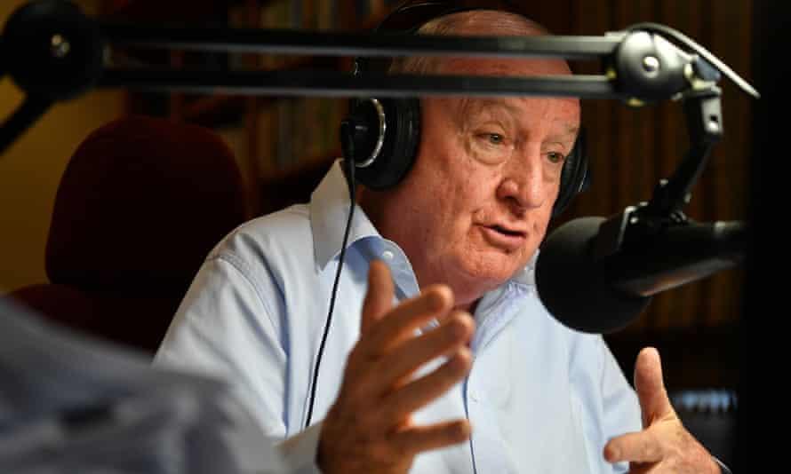 Broadcaster Alan Jones