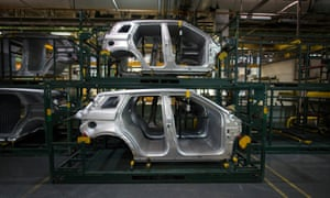 Range Rover production in Halewood