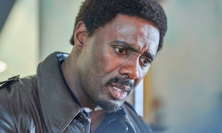 Back for a third season ... Idris Elba as Walter in In the Long Run.