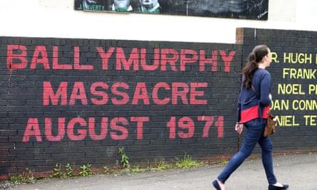 Ballymurphy murals.