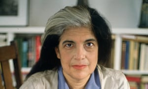 Susan Sontag, who was erased from her first husband's book after their divorce.