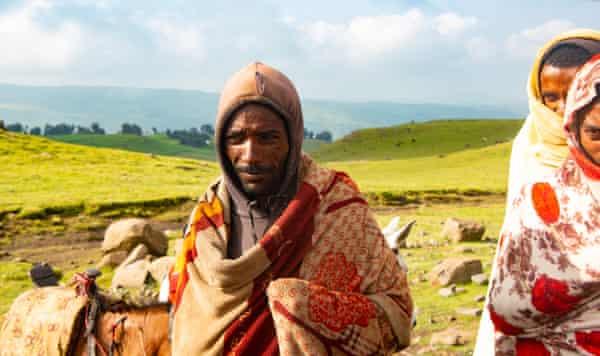 Setegn, a local farmer