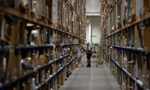 Warehouse worker at Sports Direct in Nottinghamshire