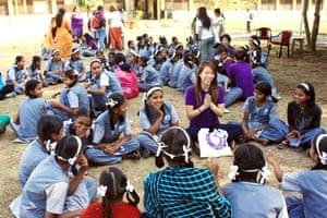 UN women's voices against violence training in western India
