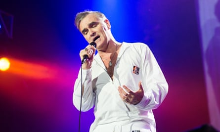 Morrissey Performs At O2 Arena In London in 2014.